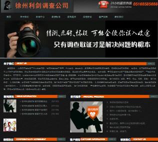 徐州商务咨询公司首页预览